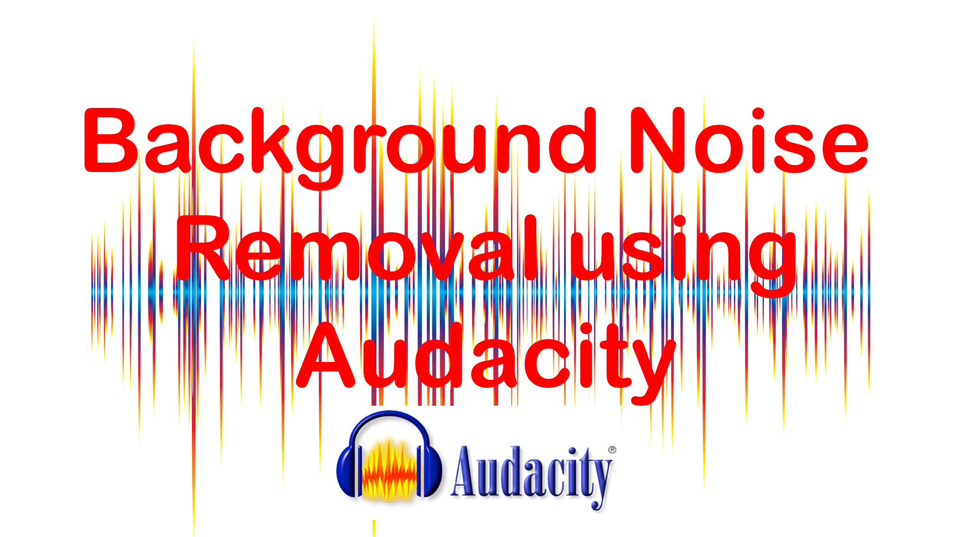 how to cancel out background noise in audacity