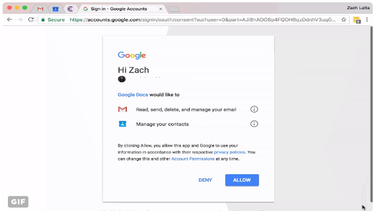 This Google Doc scam is spreading fast and will email everyone you know